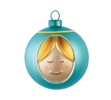 Alessi Weihnachtsbaumkugel Set 4-teilig - 4 Christbaumkugeln Maria, Josef, Jesus-Kind und Engel - 3