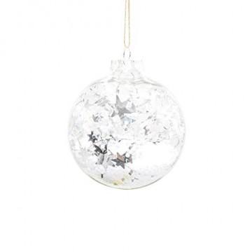 Ansenesna Weihnachtskugeln Zum Befüllen Kunststoff Transparent Christbaumkugeln Anhänger Weihnachten Kugeln Plastik Durchsichtig Weihnachtsbaum Draussen Deko - 1