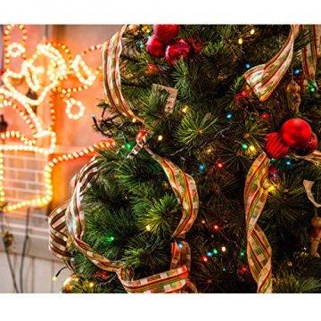 COOLWEST 24-teilig Weihnachtskugel-Set Weihnachtskugeln Christbaumkugeln Weihnachtsbaumschmuck Baumkugeln (Mehrfarbig) MEHRWEG - 5