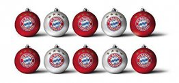 FC Bayern Christbaumkugeln 3cm 10er-Set - 1