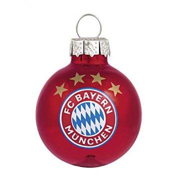 FC Bayern Christbaumkugeln 3cm 10er-Set - 3