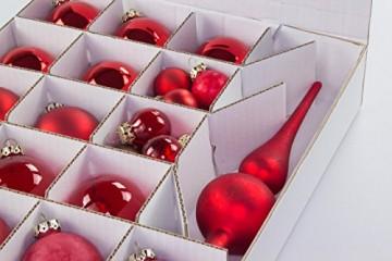 Quality-Collection Top-Box Compact - Aufbewahrungsbox für Christbaumkugeln - 5