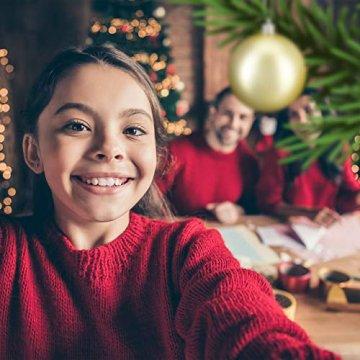 Relaxdays Weihnachtskugeln, 100er Set, Weihnachtsdeko, matt, glänzend, glitzernd, Christbaumkugel ∅ 3,4 & 6 cm, Gold, PS, 7 x 6 x 6 cm - 5
