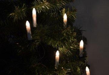 30er LED Lichterkette Weihnachtsbaumbeleuchtung für Innen Christbaumkerzen XMAS - 3