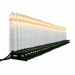 30er LED Lichterkette Weihnachtsbaumbeleuchtung für Innen Christbaumkerzen XMAS - 1