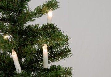 30er LED Lichterkette Weihnachtsbaumbeleuchtung für Innen Christbaumkerzen XMAS - 6
