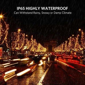 30M Warmes Weiß 300 LEDs 8 Modi-Lichterketten für Weihnachtsbaum, Garten, Party und Weihnachtsdekoration - 4