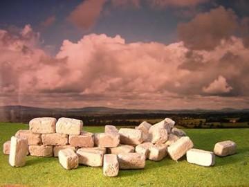 60 rechteckige Bausteine für den Krippenbau - 4