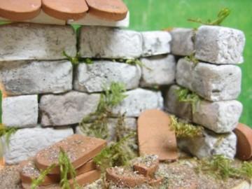 60 rechteckige Bausteine für den Krippenbau - 5
