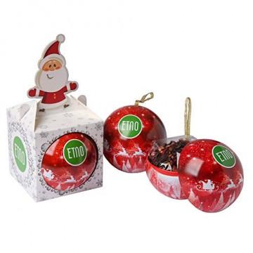 ACORUS Christbaumkugel Spielzeug mit Tee - Geschenke zu Weihnachten - 2