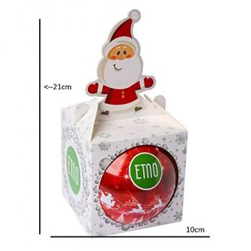 ACORUS Christbaumkugel Spielzeug mit Tee - Geschenke zu Weihnachten - 4