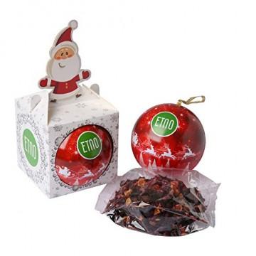 ACORUS Christbaumkugel Spielzeug mit Tee - Geschenke zu Weihnachten - 5