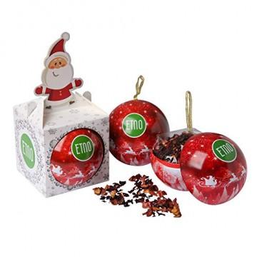 ACORUS Christbaumkugel Spielzeug mit Tee - Geschenke zu Weihnachten - 7