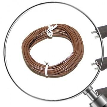 Alfred Kolbe Krippen AM 11 Weihnachtskrippen-Zubehör-Set 5m Kabel, 3 Stecker und 3 Steckverbindungen für 3,5-12 V Beleuchtung - 4