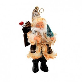AMUSTER Weihnachtsmann Weihnachtsdeko Weihnachtsfigur Weihnachtsbaum Dekor Weihnachtsmann Ornamente Xmas Decor Party Decor 16/22cm - 1