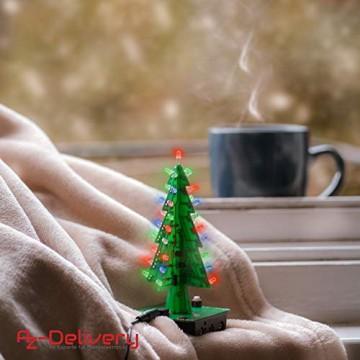 AZDelivery DIY LED Weihnachtsbaum Kit zum selber löten inklusive E-Book! - 5