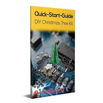 AZDelivery DIY LED Weihnachtsbaum Kit zum selber löten inklusive E-Book! - 9