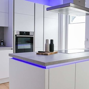 B.K.Licht LED Stripes, 5m Stripe, Lichterkette, Band, Streifen, LED Leiste, LED Lichtleiste, LED Bänder, Lichterkette LED, weiß, bunt, inkl. Fernbedienung, inkl. Farbwechsel, selbstklebend - 7
