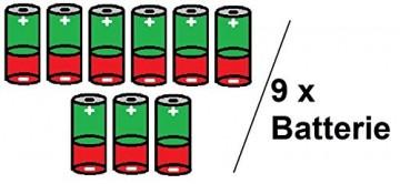 Bambelaa! 3er Led Deko Geschenke Leucht Boxen Timer Weihnachts Dekoration Weihnachtsdeko Beleuchtet Deko Weihnachten (Rot) - 7