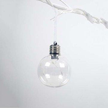 BeesClover Weihnachtsbaumbeleuchtung, PET, speziell geformte Lampe, Weihnachtsbaumbeleuchtung, Dekoration Section C-Watermelon Ball - 7