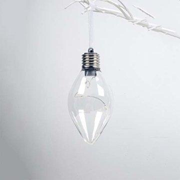BeesClover Weihnachtsbaumbeleuchtung, PET, speziell geformte Lampe, Weihnachtsbaumbeleuchtung, Dekoration Section C-Watermelon Ball - 9