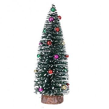 Bescita Weihnachtsbaum künstlich Desktop Mini Christbaum Tannenbaum Weihnachts Deko Home Wohnzimmer Decoration Christmas Gifts (15CM) - 1