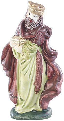 Britesta Krippenfiguren: 11-teiliges Weihnachtskrippen-Figuren-Set aus Porzellan, handbemalt (Krippefiguren) - 3