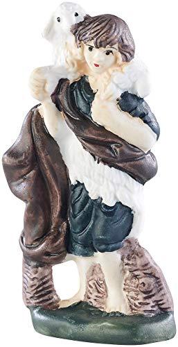 Britesta Krippenfiguren: 11-teiliges Weihnachtskrippen-Figuren-Set aus Porzellan, handbemalt (Krippefiguren) - 9