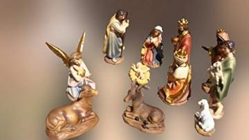 BTV Premium Krippenfiguren 11-12 cm KFG-MDS mit Deko, 21 -TLG. Set, Figuren bis 12c - 2