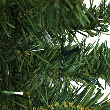 Casaria Weihnachtsgirlande I 10m I 200 LED's I In & Outdoor I Tannengirlande Tannenzweiggirlande Weihnachtsdeko - 8