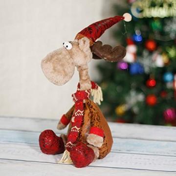 """CQ&WL Weihnachtsschmuck Weihnachtselch Stofftier Weihnachtsfigur 15.7""""/ 40cm - 1"""