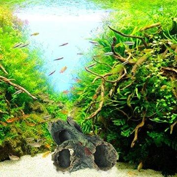 domybest Kunstharz Aquarium Weihnachtsbaumschmuck Künstliche Treibholz für Fisch Tank ornament - 5