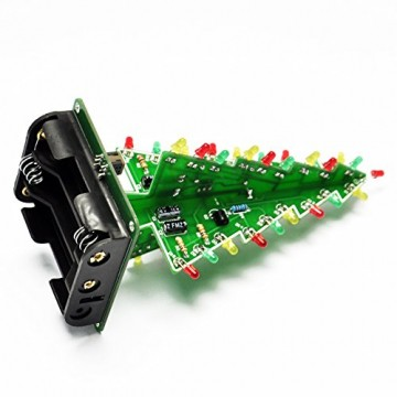 Gikfun EK1719U 3D-Weihnachtsbaum-LED-Heimwerker-Kit mit Blitzschaltung, LED - 5