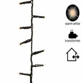 gresonic-Led-Cluster-Lichterkette-Strombetrieb Deko f/ür Innen Au/ßen Garten Weihnachtsbaum Hochzeit Warm-//Kaltwei/ß 9Modi Dimmbar, 300LED