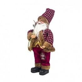 Happyyami Weihnachtsmann-Puppe-Weihnachten Ornament Dekoration Weihnachten Tisch Weihnachtsmann-Figuren Stehen (rot) - 1