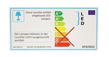 Idena 8325058 - LED Lichterkette mit 80 LED in warm weiß, mit 8 Stunden Timer Funktion, Innen und Außenbereich, für Partys, Weihnachten, Deko, Hochzeit, als Stimmungslicht, ca. 15,9 m - 7