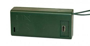 Idena 8582154 - Deko Tannenbaum mit 10 LED warm weiß, mit 6 Stunden Timer Funktion, Batterie betrieben, für Weihnachten, Advent, als Stimmungslicht, Christbaum, ca. 35 cm - 5