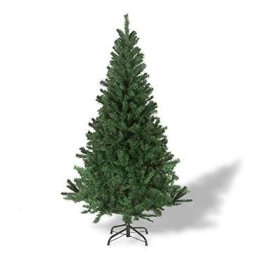 Julido Weihnachtsbaum Kunstbaum künstlicher Baum Tannenbaum Dekobaum Christbaum Grün mit Ständer 120cm 260 Spitzen - 3