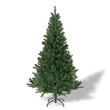 Julido Weihnachtsbaum Kunstbaum künstlicher Baum Tannenbaum Dekobaum Christbaum Grün mit Ständer 120cm 260 Spitzen - 1