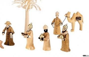 Kleine Figuren & Miniaturen Krippenfiguren Set - 14 teilig - Theo Lorenz - 2