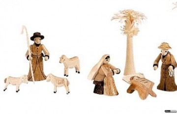 Kleine Figuren & Miniaturen Krippenfiguren Set - 14 teilig - Theo Lorenz - 3