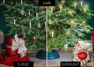 KRINNER Lumix LUMIX Elfenbein KRINNER LUMIIX Superlight Mini kabellose Power LED Christbaumkerzen 12er Basis-Set (Outdoor IP44), ABS Kunststoff, 1.5 x 1.5 x 9 cm - 2