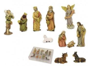 Krippenfigurenset, 11-tlg. Set, für 6cm Figuren - 1