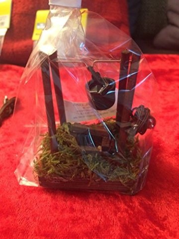 Krippenstall 8 teiliges Beleuchtungsset Krippenbeleuchtung Weihnachstkrippen Beleuchtung, Jeder Kunde bekommt ein Holzstoß gratis dazu. - 3