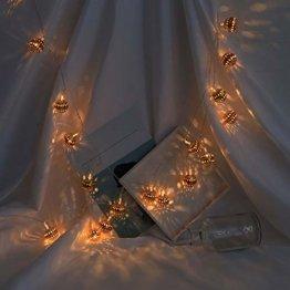 LED Lichterkette Weihnachtsschnur Weihnachtsdekoration Kugelschnur Weihnachtsbeleuchtung Party Wohnkultur Outdoor Indoor Xmas Lampe 1.5M/3.0M Lichterkette AußEn GlüHbirne Retro - 1