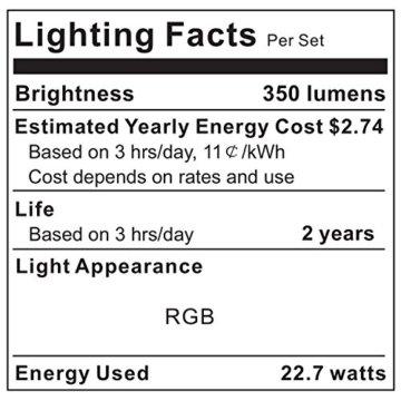 LED Strip RGB 5m LED Licht Streifen SMD 5050 Leds mit Netzteil, Fernbedienung Led stripes Lichtband Leiste Band Beleuchtung,MEHRWEG - 9