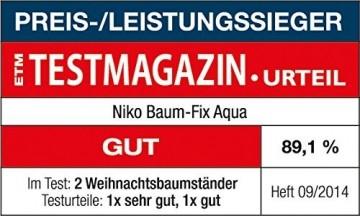 Niko-Versand Christbaumständer Baum Fix Aqua, grün - 5