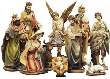 Paolo Rossi Krippen aus 11-Harz Statuen hohen dekoriert wie 43 cm - 1