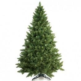 Prextex 180cm große hochwertige klappbare künstliche kanadische Fichte als Weihnachtsbaum, geringes Gewicht und leichter Aufbau mit Christbaumständer - 1