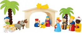 small foot 3945 Holzkrippe Spielset - 1